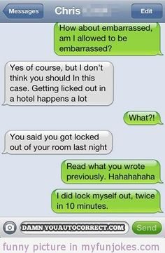 Autocorrect fail licked hotel — funny sms  in http://myfunjokes.com/funny-sms/autocorrect-fail-licked-hotel-funny-sms/