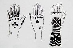 Ainu and Okinawans アイヌと琉球人の源流 Okinawa Tattoo, Haida Tattoo, Ainu People, Textile Texture, Coral Blue, Tribal Art, Vintage Japanese, Vintage Photos, Pattern Design