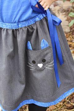 Ottobre Meoow Cat Skirt