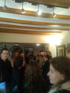 En el museo #ChocolatesValor #HZEELAND #Holandeses #Alicante #UA #2014 #CSI #ALCexperience #ExperienceUA #SpanishCoursesUA #ErasmusUA2014