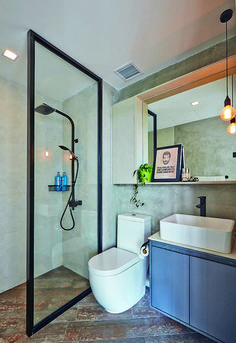Bathroom design ideas: 10 small but stylish spaces Toilet And Bathroom Design, Small Toilet Design, Small Room Design, Diy Bathroom Decor, Modern Bathroom Design, Bathroom Interior Design, Small Bathroom, Bathroom Ideas, Bath Design