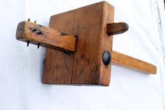 Wooden scribe Vintage French by OlgasBrocante on Etsy, £11.99
