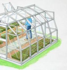 Invernaderos uso dom stico invernaderos dise o y - Mini invernadero casero ...