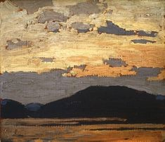 Group Of Seven Art, Group Of Seven Paintings, Emily Carr, Canadian Painters, Canadian Artists, Nocturne, Landscape Art, Landscape Paintings, Tom Thomson Paintings