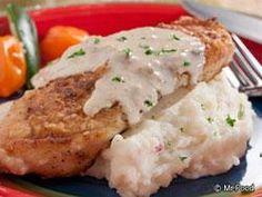 Recipe: Pork Dinner Recipes / Main Dish Pork Recipe: Fried Pork Chops with Cream Gravy - tableFEAST