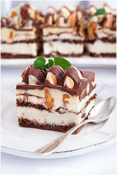 Iceberg cake – About Healthy Desserts Jello Recipes, Brownie Recipes, Cookie Recipes, Dessert Recipes, Polish Desserts, Polish Recipes, Pastry Recipes, Baking Recipes, Healthy Cake