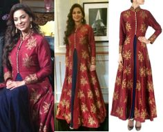 It's your engagement- confused whether to wear a lehenga or saree. My suggestion go for something in between :)