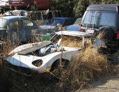 Abandoned cars and barn finds picture thread! Classic Trucks, Classic Cars, Jaguar, Type E, Toyota 2000gt, Rusty Cars, Abandoned Cars, Barn Finds, Find Picture