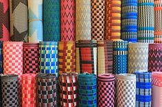 african plastic woven mats from malika in senegal the global grocery the global marketplace. Black Bedroom Furniture Sets. Home Design Ideas