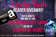Layla Nash's Super Giveaway!
