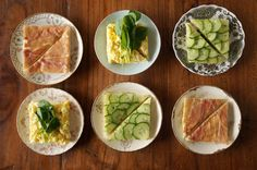 tea #sandwiches #recipes from honestly yum