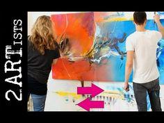zAcheR-finet Tutorial - Acrylmalen Workshop - Acrylic painting Malen mit Isabelle 13 - YouTube
