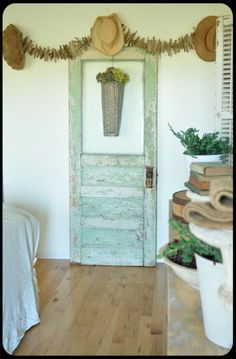 decorating with vintage doors