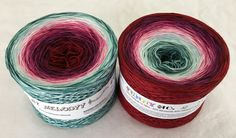Funny Collection No12 - Specialty Yarn - Gradient Yarn - Crochet Yarn - Knitting Yarn - Wolltraum Yarn - Ombre Yarn - Threads - Crazy Yarn by MelodyyByWolltraum on Etsy
