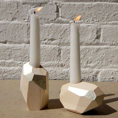 Wood Candle Holder | MAKIE HOME | Little Useful Things | Pinterest | Votive  Holder, Lamp Light And Woodwork