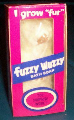 Fuzzy Wuzzy Soap!