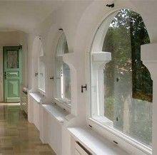 Ein Bogenfenster Aus PVC Im Renovierten Bauernhaus | Fenster | Pinterest |  Bogenfenster, Pvc Fenster Und Bauernhaus