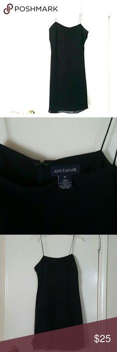 Ann Taylor LBD Classic little black dress. Worn once. Ann Taylor Dresses Mini