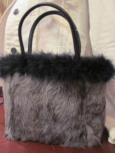 curly lamb fur purse by furgirl on Etsy Fur Purse 6d83d4e91b2c6