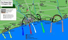 Plan invasif de Dieppe