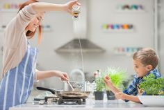 """Create this simple rule in your house: No smartphones in the kitchen while you're cooking or eating. """"These are the places we come together to have conversations,"""" says Sherry Turkle, a professor at MIT and the author of Alone Together: Why We Expect More From Technology and Less From Each Other.  - WomansDay.com"""