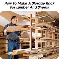 Diy Lumber Storage Solutions