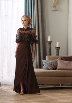 Vintage Mother of the Bride Dress - Glitter & Lace