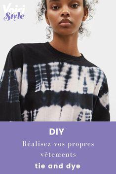 L'article sur voici.fr Tie And Dye, Short En Jean, Diy, Sweatshirts, Sweaters, Fashion, Dress Types, Jacket, Fashion Styles