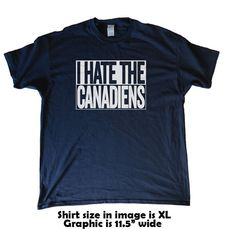 I Hate The Canadiens  Toronto Maple Leafs Fan by BeefShirts
