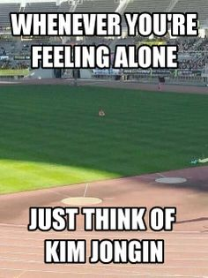 That's how I feel like...alone just like Jongin~ #Kai #KimJongin