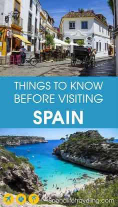 useful things to know about Spain before you visit: frequently asked questions about Spain and things to know before traveling to Spain Travel Guide, Thailand Travel Guide, Croatia Travel, Bangkok Thailand, Malta, Travel Advice, Travel Guides, Travel Tips, Monaco