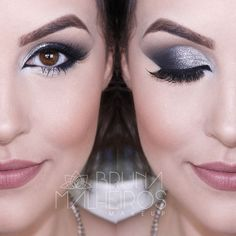 Maquiagem BAPHO: Gliter Prata para o Ano Novo