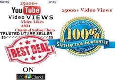 provide Guaranteed 25000+ Youtube Video Views In j... for $5