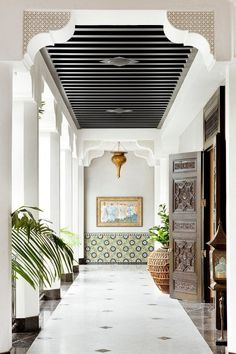 Elegant and luxurious Moroccan inspired porch
