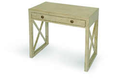 """JENNIFER SIDE TABLE   Dimensions 28""""H X 30""""W X 18""""D   Custom Sizing Available   45 Unique Hand-Applied Finishes   Made in USA"""