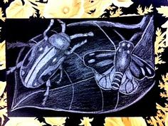 Room 9: Art!: Here Come The Bugs...