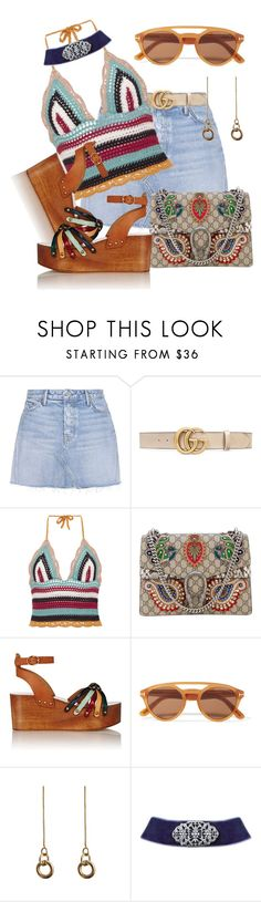 """""""unexpected Gucci"""" by daincyng ❤ liked on Polyvore featuring GRLFRND, Gucci, RED Valentino, Étoile Isabel Marant, Tom Ford, Laura Lombardi and 2028"""