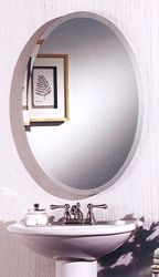 Cameo Oval Frameless Bathroom Medicine Cabinet by Broan #kitchensource #followerfind #pinterest