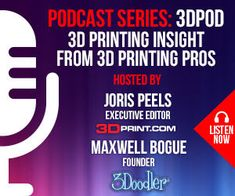 If you enjoyed Talking Additive's conversation with Ultimaker's new CEO, 3DPOD also talked with Jürgen von Hollen in their latest episode. Take a listen here. 3d Printing News, 3d Printing Business, 3d Printing Materials, 3d Printing Industry, Printing Services, Printing On Fabric, 3d Design, Print Design, Affordable 3d Printer