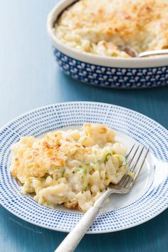 Brussels Sprout Mac & Cheese Recipe from loveandoliveoil.com - #cheese #milk #butter