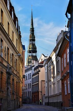 Why not? Old Riga in Latvia - spent several days here.  Loved it.