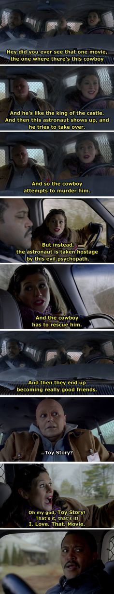And when Morello revealed a lot about herself: | Literally Just A Bunch Of Funny OITNB Quotes