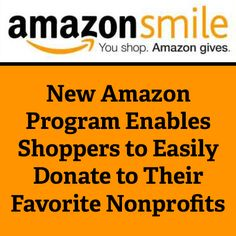 New Amazon Program Enables Shoppers to Easily Donate to Their Favorite Nonprofits