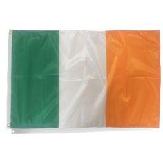 Drapeau d'Irlande - en vente sur  http://www.mon-drapeau.com/gamme