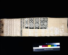 British Sampler made linen, embroidered with linen and silk thread, cut-work and applied needle-lace motifs. Silk Thread, Needle And Thread, Types Of Lace, V & A Museum, Needlepoint Patterns, Cut Work, Needle Lace, Victoria And Albert Museum, Metal Working