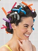 Hair Ware Twist N Curl - I remember these. Such a fun way to get curly hair and you can sleep in them too! Hair Supply Store, New Perm, Curl Formers, Crazy Hair Days, Bouncy Curls, Peruvian Hair, Pretty Hairstyles, Healthy Hair, Perms