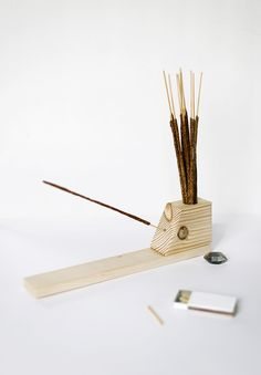 DIY Incense Holder @themerrythought