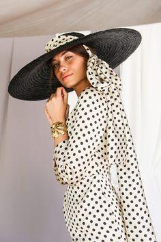 IMG_6118 Pamela, Hats, Fashion, Vestidos, Polka Dot Fashion, Women, Sombreros, Moda, Hat