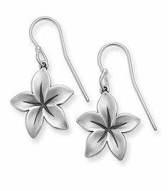 Radiant Flower Ear Hooks: James Avery
