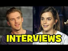 BEAUTY AND THE BEAST 2017 Trailer Launch Interviews - Emma Watson, Dan Stevens, Luke Evans - YouTube